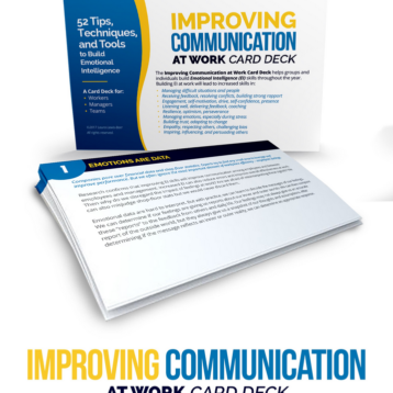 Improving Communication At Work Card Deck